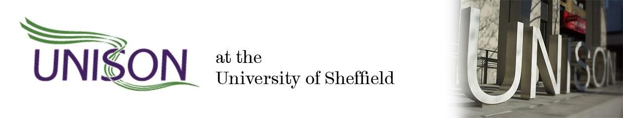 UNISON at the University of Sheffield