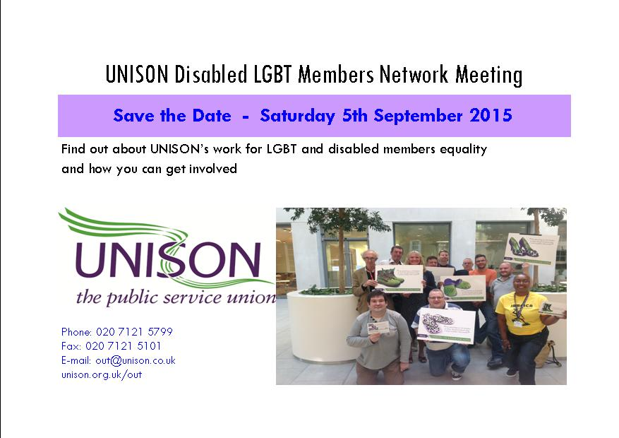 save the date - disabled members 2015