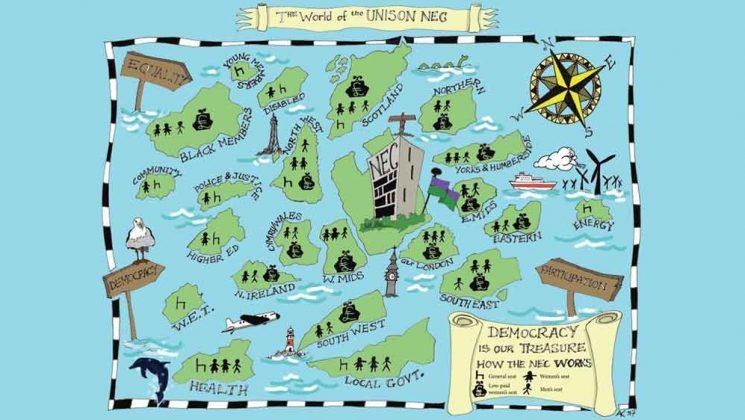 nec map