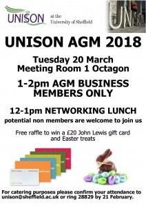UoS AGM POSTER