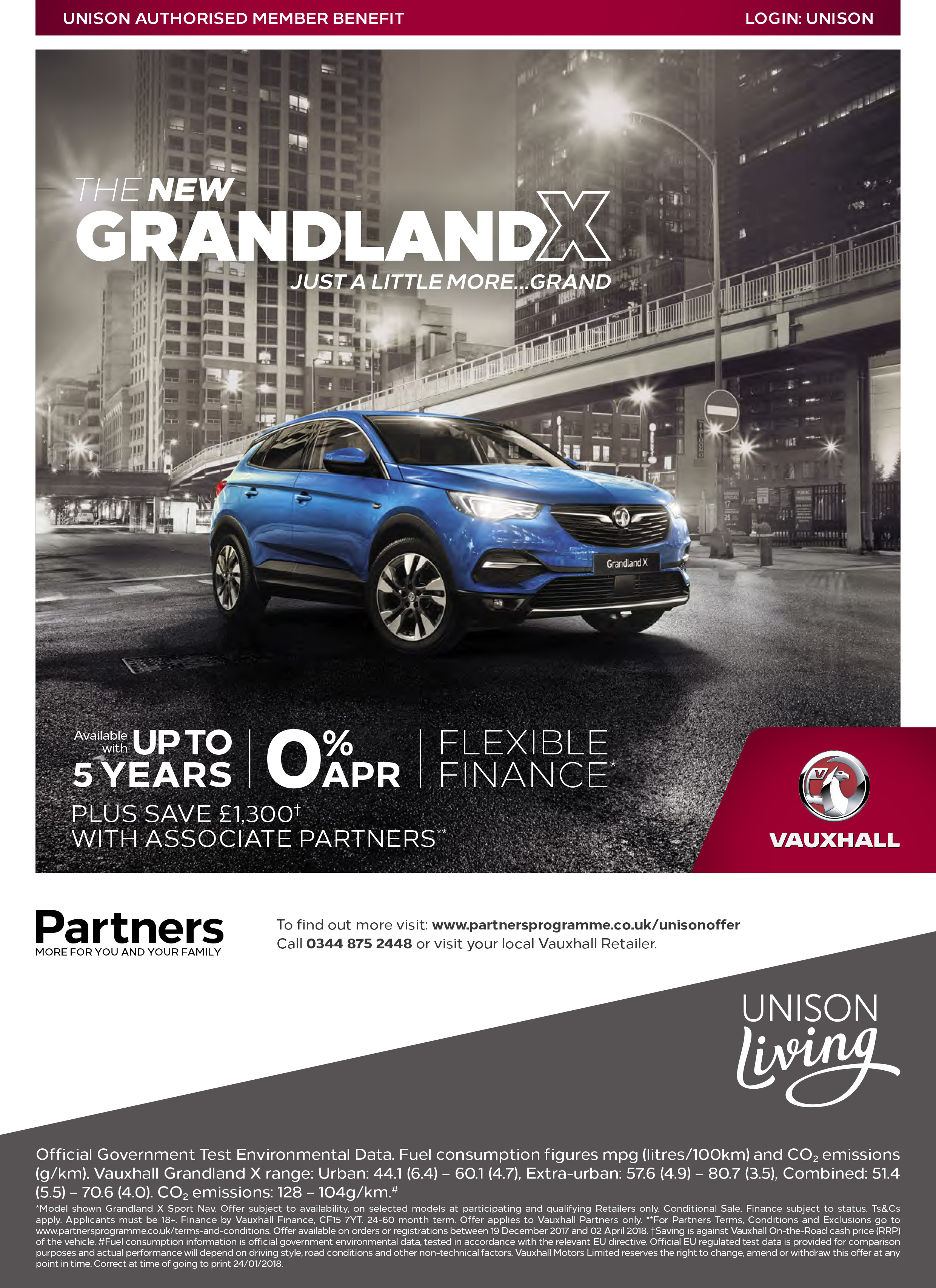 Vauxhall Partners Offers