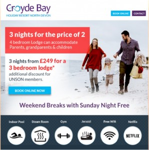 Croydon Bay offer