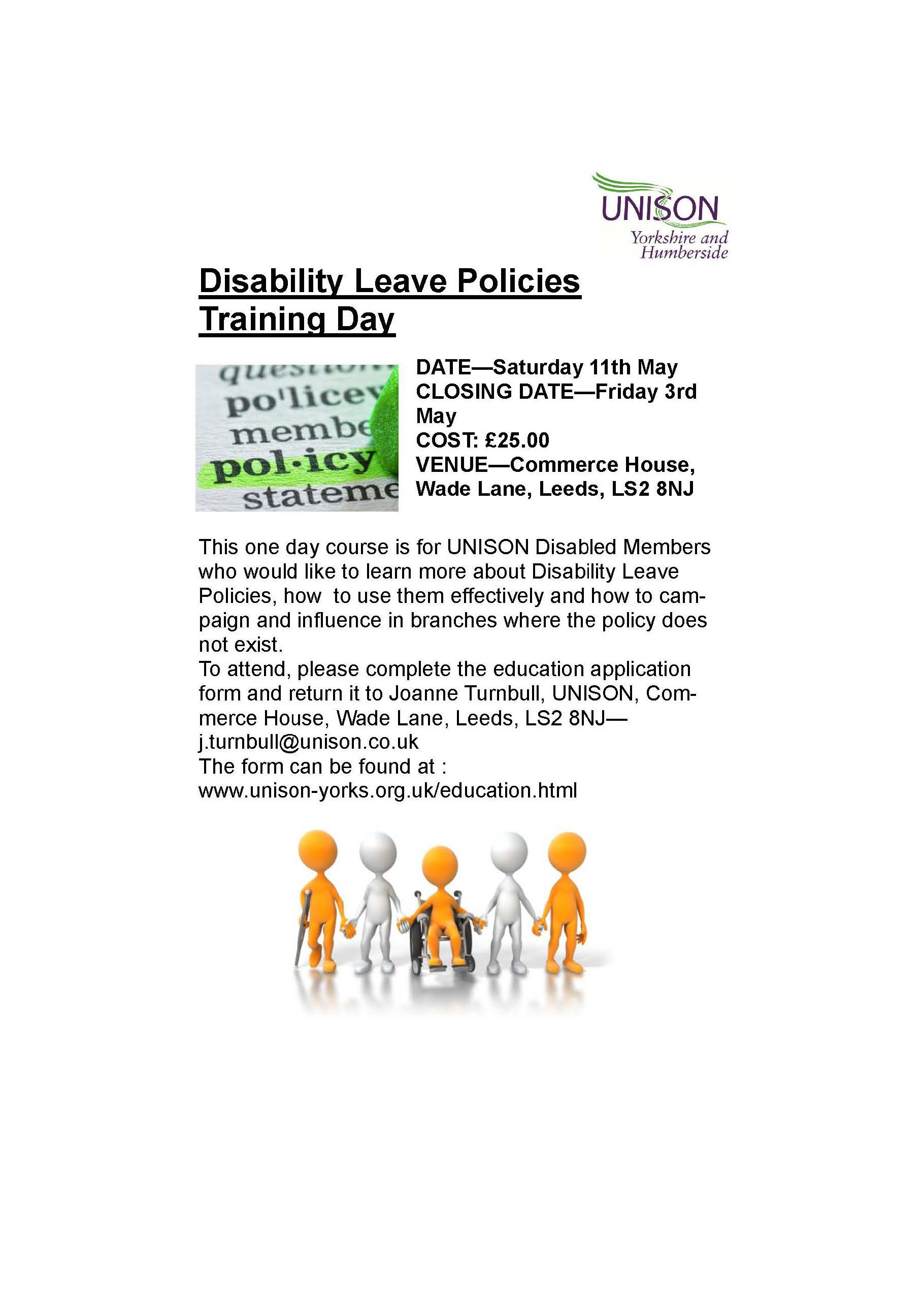 Disability Leave Policies Training Day