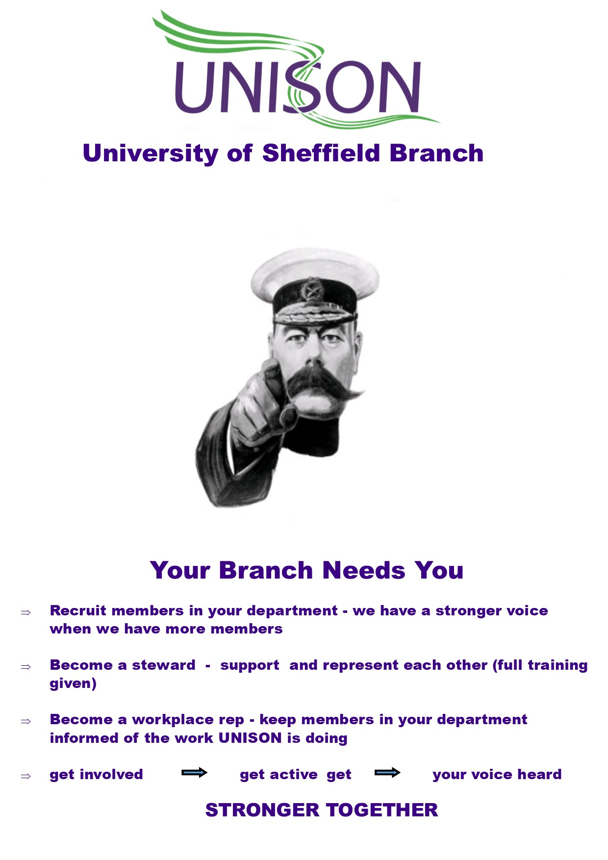 Your Branch Needs You